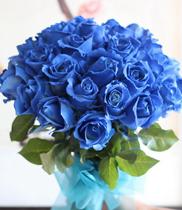 Điện hoa-hoa hồng xanh