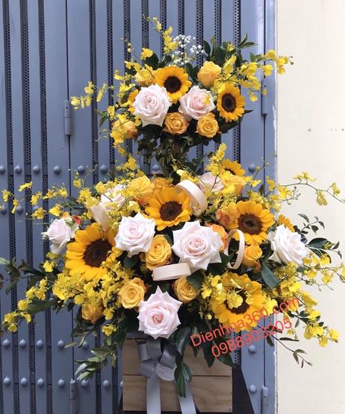hoa khai trương hoa hướng dương