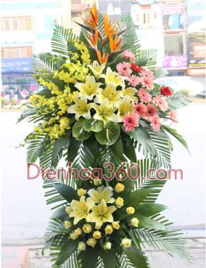 Gửi điện hoa chúc mừng, shop hoa online