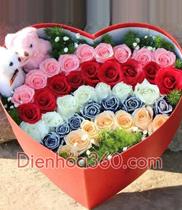 hoa đẹp, hoa tươi, hộp hoa đẹp