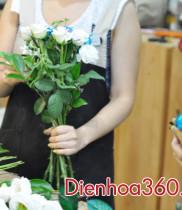 Shop hoa, hoa tươi, Cách chăm sóc hoa tươi lâu