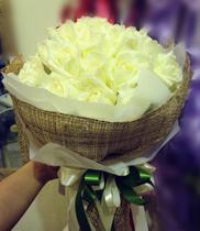 Hoa tặng người yêu, hoa  hồng trắng, hoa đẹp