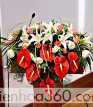 Hoa bục phát biểu, đặt hoa bục phát biểu, hoa sự kiện