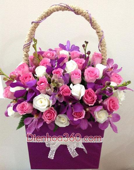 hoa hong dep, gio hoa tuoi