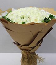 Điện hoa Hải Phòng –  Hoa hồng trắng