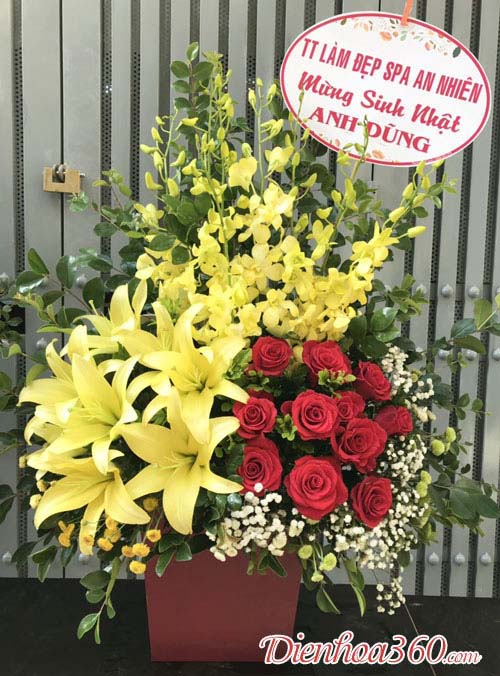 Hoa tặng 8/3 – hoa chúc mừng