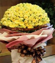 Ý nghĩa hoa hồng vàng, chú ý gì khi tặng hoa hồng vàng