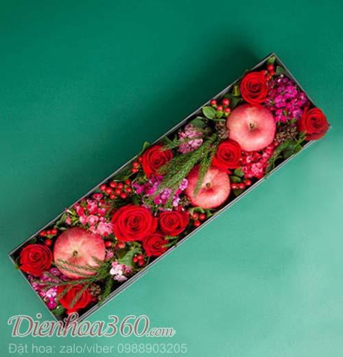 Hộp hoa hồng tặng ngày tình nhân Valentine