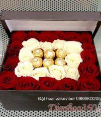Hoa ngày 14/2 ngày valentine cho các cặp đôi đang yêu