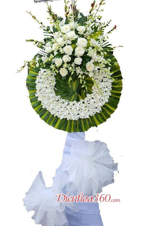 Vòng hoa tang CB06