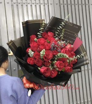 Mẫu hoa sinh nhật tháng 12
