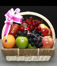 Giỏ hoa quả, giỏ trái cây, đặt giỏ hoa quả sạch