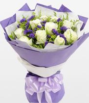 Hoa tình yêu-hoa hồng trắng đẹp
