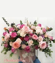 Giỏ hoa hồng tặng sinh nhật