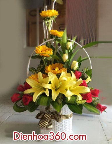gio hoa ly dep