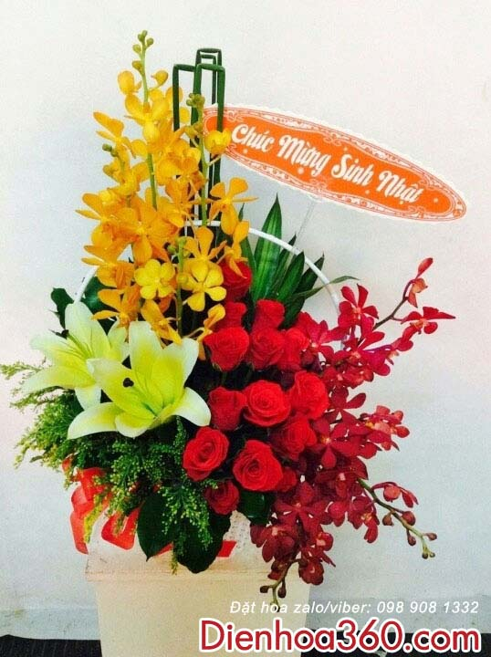 Hoa chúc mừng sinh nhật-điện hoa uy tín