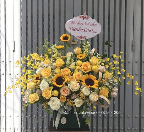 Hoa chúc mừng sinh nhật nam – Dienhoa360