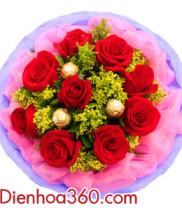 Mẫu Hoa tặng Valentine 14/2 độc đáo và đẹp nhất trong năm 2017