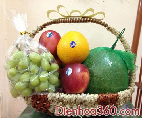 Đặt giỏ hoa quả tại Hà Nội