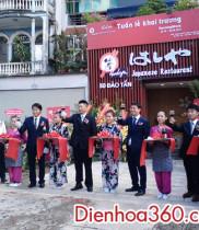 Khai trương quán ăn ohashiya 50 Đào Tấn, điện hoa chúc mừng quán mới khai trương
