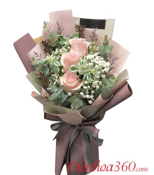 Mẫu hoa sinh nhật giá rẻ