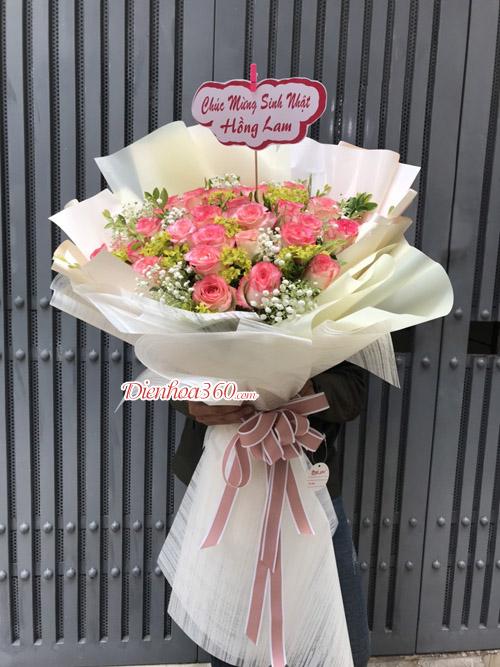 Bó hoa tặng sinh nhật đẹp
