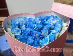 Hộp tim đẹp, quà tặng 20-10, dịch vụ điện hoa uy tín