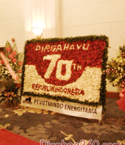 Dien hoa, Hoa tươi chúc mừng ngày thành lập quan hệ ngoại giao