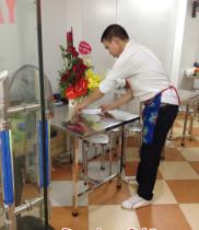 Điện hoa chúc mừng khai trương, giỏ hoa chúc mừng quán ngan Hà Trang