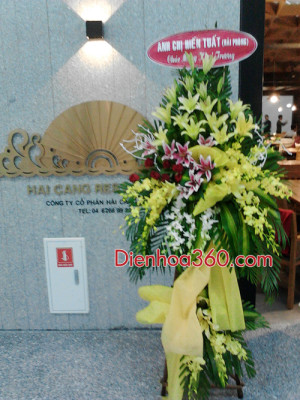 dat hoa khai truong nha hang (4)