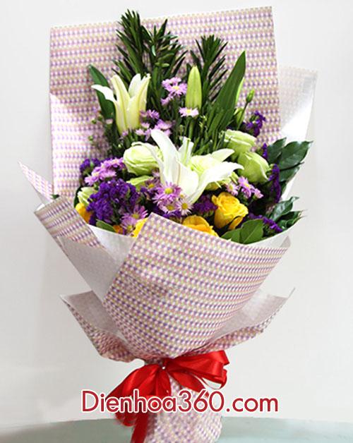 hoa bo re dep, shop hoa online