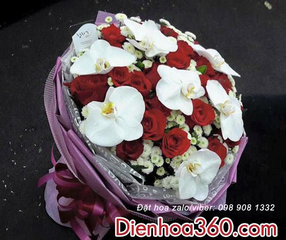 hoa sinh nhat dep, hoa tuoi, hoa bo