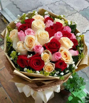 Gửi điện hoa về VN, shop hoa Hà Nội