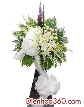 Hoa chia buồn màu trắng