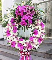 Hoa chia buồn đẹp nhất, đặt hoa chia buồn vip, vòng hoa chia buon vip