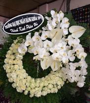 Đặt hoa chia buồn quận 1, shop hoa tươi, dịch vụ điện hoa