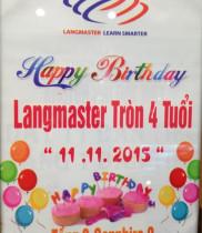 Hoa chúc mừng sinh nhật, điện hoa chúc mừng Langmaster