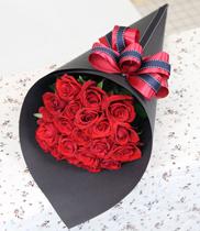 Điện hoa, Đặt hoa 08-03, Cách bó hoa hình ốc quế