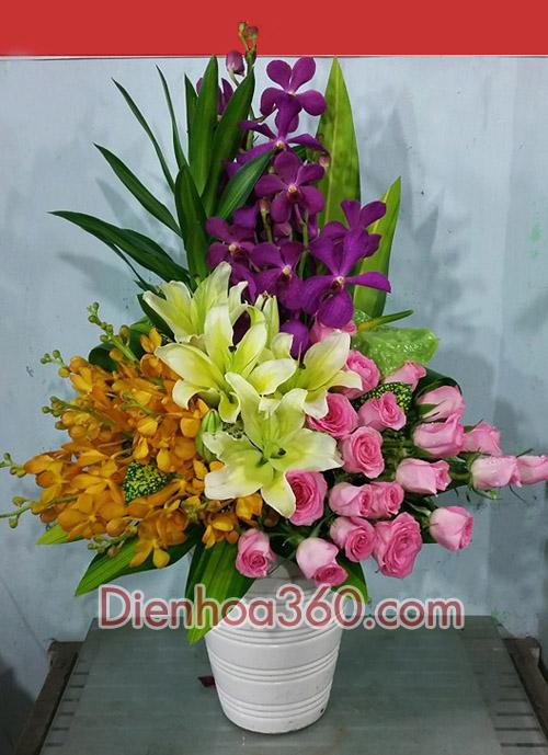 gửi hoa sinh nhật mẹ