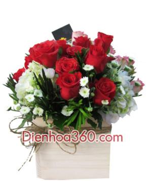 dien hoa tphcm, shop hoa hcm, dien hoa sai gon,flower