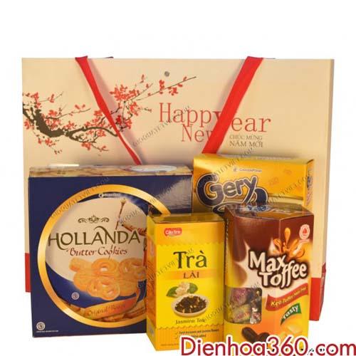 Giỏ quà tết giá rẻ tại Hà Nội, đặt giỏ quà tết