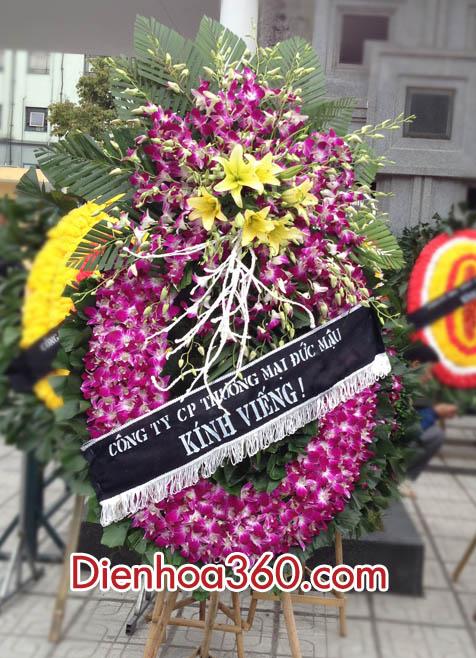 Vòng hoa tang lễ 125 phùng hưng