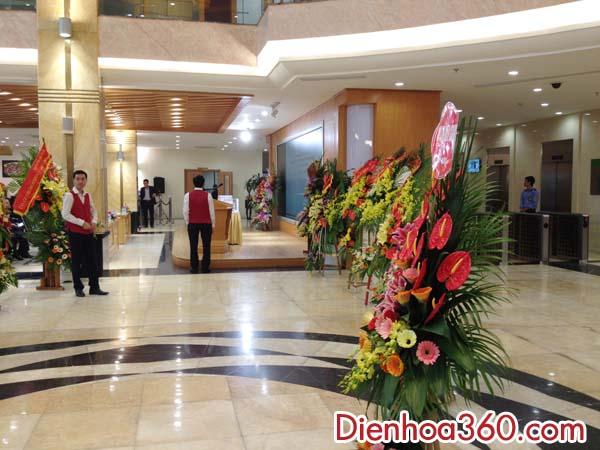 Hoa Khai Truong: Hoa Chúc Mừng, điện Hoa Lễ Khai Trương Giao Dịch Cổ Phiếu