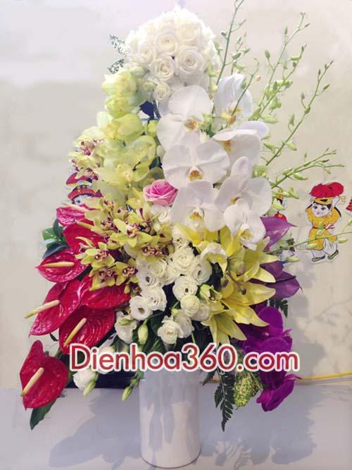 Binh hoa dep