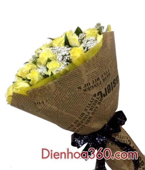 Bó hoa sinh nhật bạn