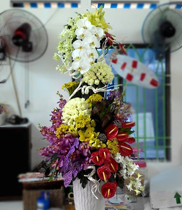 Mẫu hoa sinh nhật sang trọng
