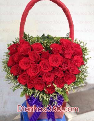 Hoa tinh yeu, hoa tuoi 8-3, hoa dep 8-3