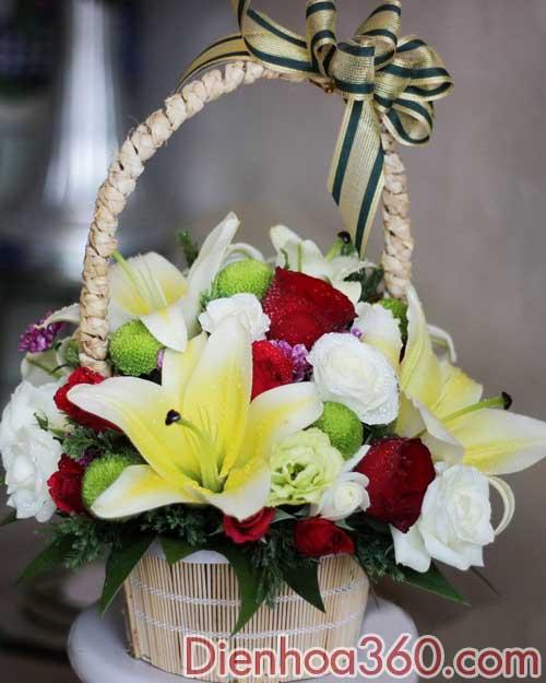 Hoa mung sinh nhat