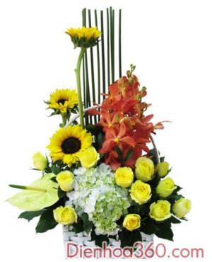 gio hoa, hoa gio, dien hoa, send flower