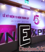 Lãng hoa chúc mừng kỷ niệm 15 năm thành lập VnExpress, Hoa Chuc mừng, điện hoa chúc mừng